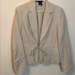 Like new Willi Smith linen blazer jacket